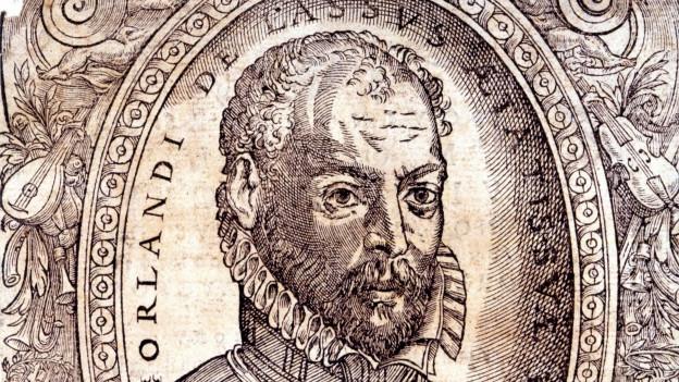 Portrait von Orlando di Lasso