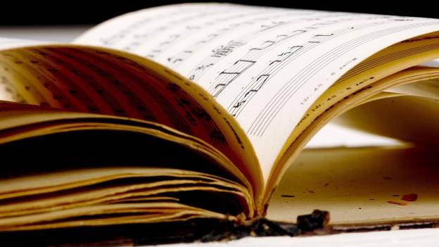 Altes Notenbuch