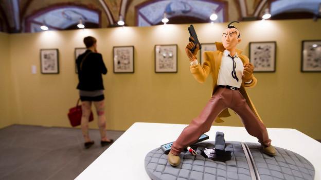 Fumetto ist eines der bedeutendsten Comic-Festivals in Europa. Seit zwei Jahren ist Edina Kurjakovic Co-Leiterin von Fumetto.