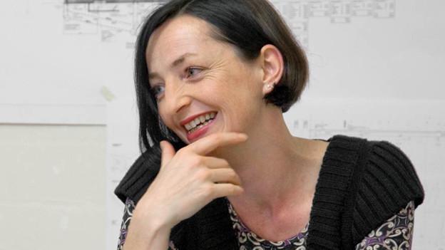 Architektin und Professorin: Astrid Staufer.