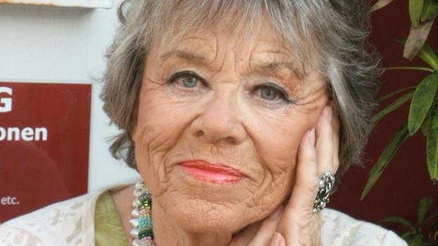 Die Schauspielerin Dinah Hinz.
