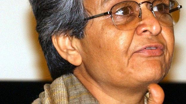 Porträt von Kamla Bhasin.