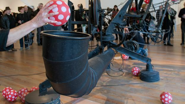 Das Tinguely Museum kann auch Musik machen