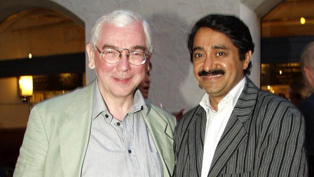 Mathew Kuzhippallil mit Terence Davies.