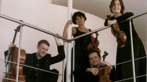 Aufnahme des Ensembles Belcea Quartet