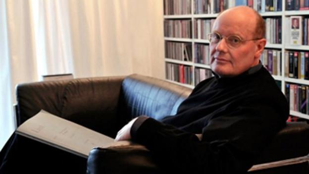 Porträt Peter Hagmann.