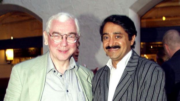 Mathew Kuzhippallil und Regisseur Terence Davies.