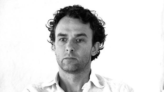 Florian Mehnert, schwarz-weiss fotografiert.