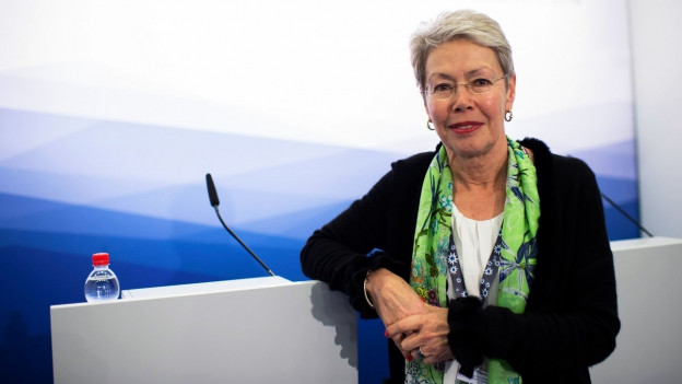 Porträt der Diplomatin Heidi Tagliavini.