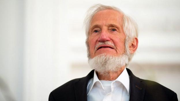 Porträt des Flüchtlingshelfer Rupert Neudeck, er verstarb am Dienstag.