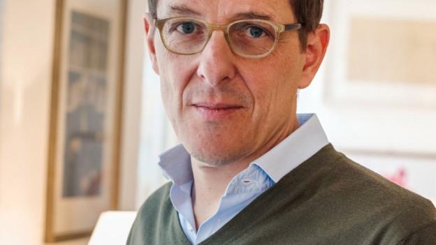 Porträt des Verlegers Peter Haag.
