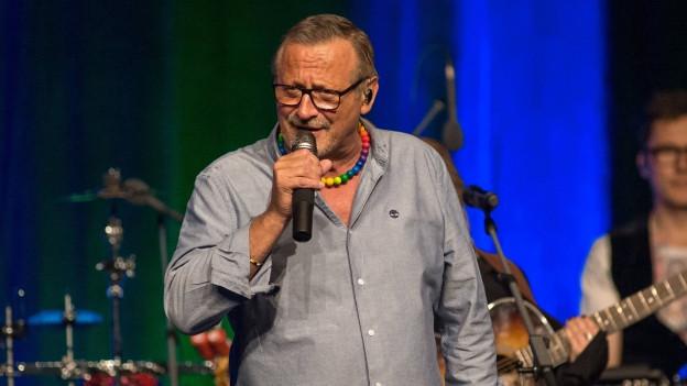 Ein Lied wie «Sage nein» ist typisch für den politisch aktiven Konstantin Wecker.