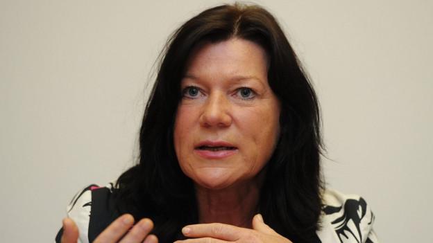 Helena Trachsel trat schon immer für neue, unkonventionelle Lösungen ein.