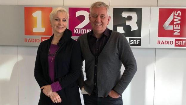 Alexandra Prusa und Röbi Koller