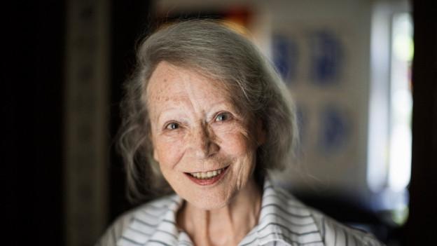 Portrait von Margrit Läubli.