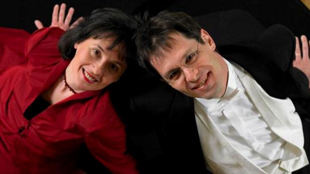 Adrienne Soós und Ivo Haag sind nicht nur beruflich ein Paar, sondern auch privat.