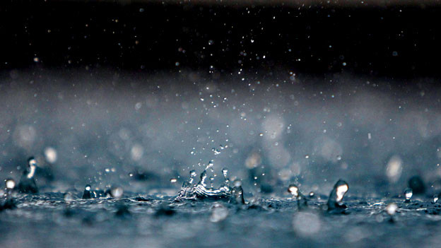Was unterscheidet Regen vom Applaus?