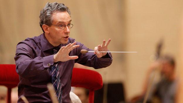 Fabio Luisi an der Metropolitan Opera in New York, 2010.