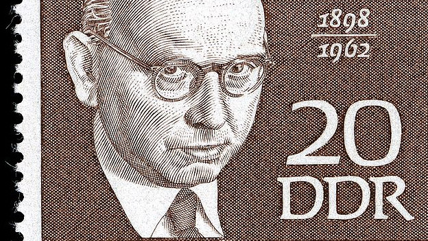 Hanns Eisler auf einer Briefmarke.