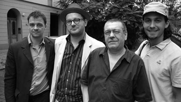 Ulrich Gumpert mit seinem Quartett.