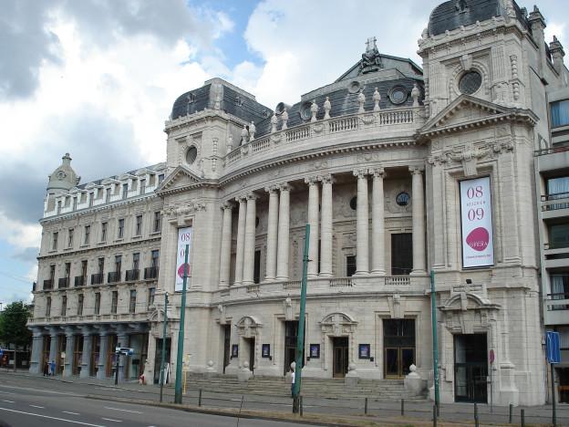 Das Operngebäude in Antwerpen