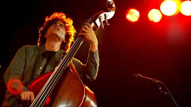 Heiri Kaenzig und seine Gruppe am Jazzfestival Willisau, 2004.