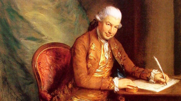Porträt von Carl Friedrich Abel