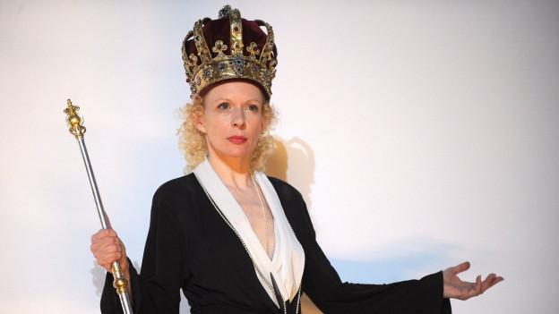Sunnyi Melles an den Salzburgern Festspielen 2010.