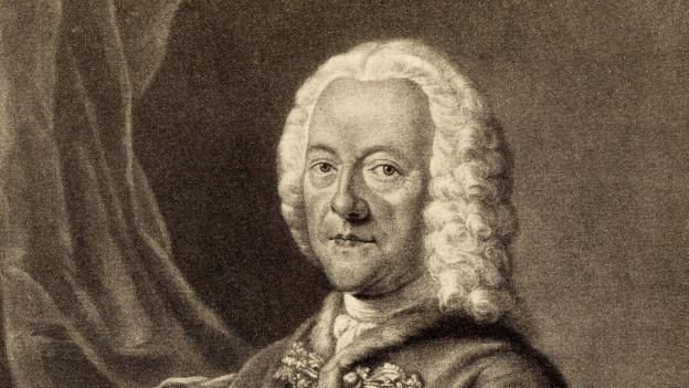 Historischer Druck von Georg Philipp Telemann