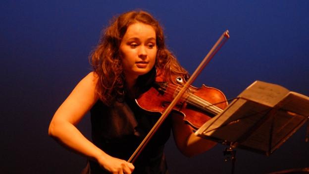 Die Violinistin Patricia Kopatchinskaja ist artist-in-residence beim diesjährigen Lucerne Festival