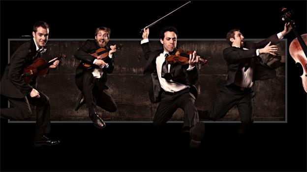 Ein Quartett für neue Musik.