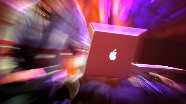 Musik aus dem Laptop