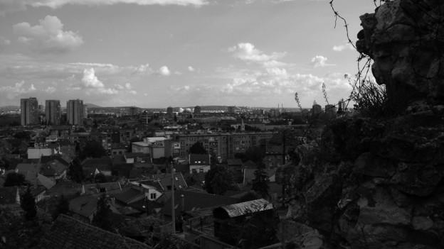 Blick über Belgrad.
