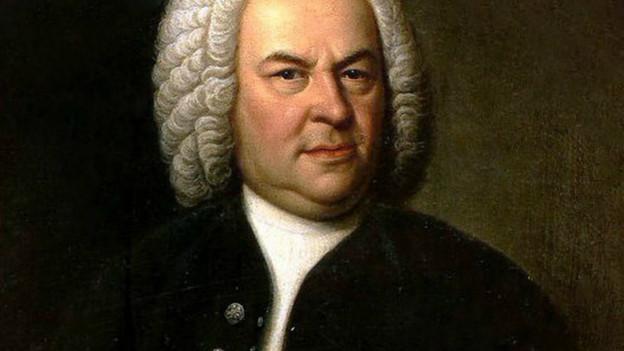Porträt von Bach