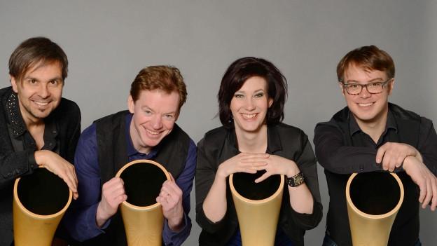 Hornroh Modern Alphorn Quintet
