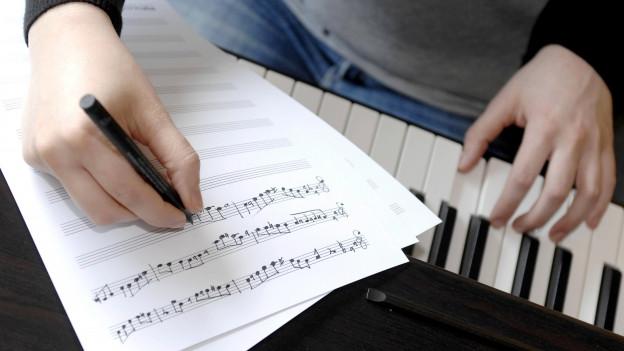 Symbolbild Komponieren