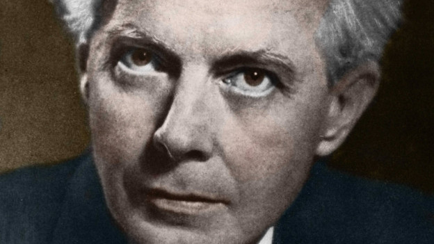 Porträt des Komponisten Béla Bartók