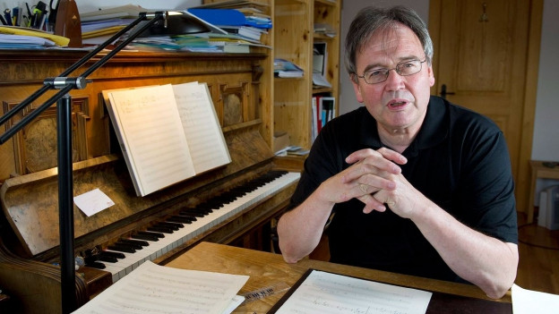 Porträt des Komponisten Jean-Luc Darbellay.