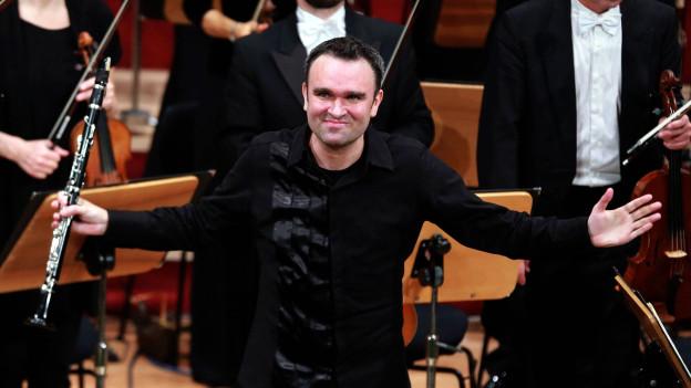 Der Klarinettist und Komponist Jörg Widmann am Musikfestival «Heidelberger Frühling 2016».