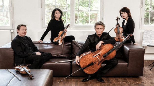 Das Minguet Quartett.