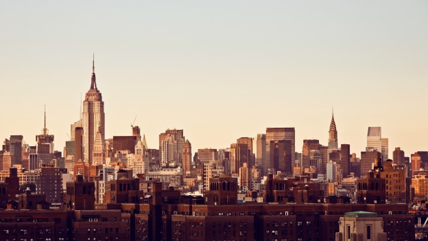 Skyline von New York City