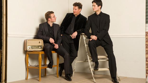Das Oliver Schnyder Trio.