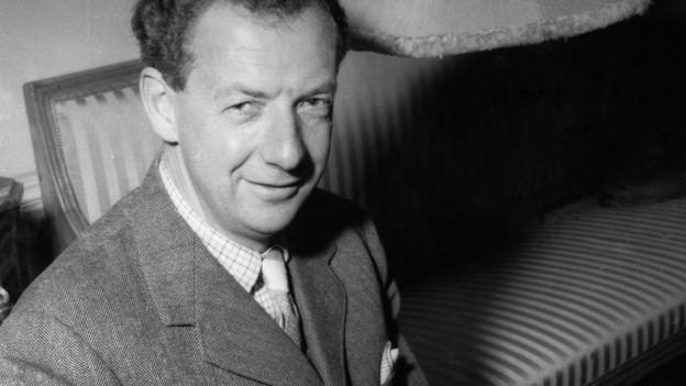Benjamin Britten, 1954.