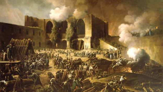 Belagerung von Burgos durch britisch-portugiesische Streitkräfte.