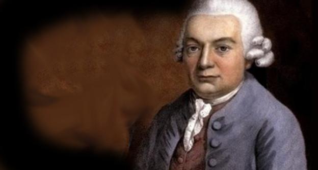Pastellbildnis von Carl Philipp Emanuel Bach.