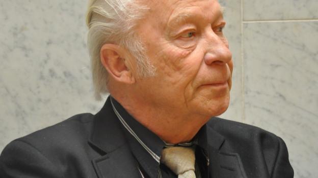 Porträt von Aulis Sallinen.