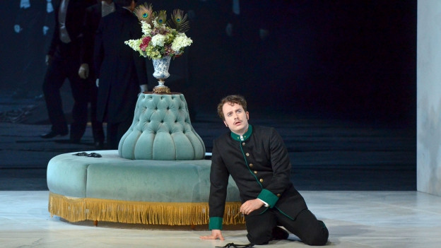 Tenor Daniel Behle als Matteo in «Arabella» von Richard Strauss an den Salzburger Osterfestspielen 2014.