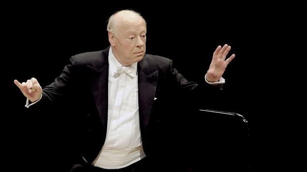 Dirigent Bernard Haitink