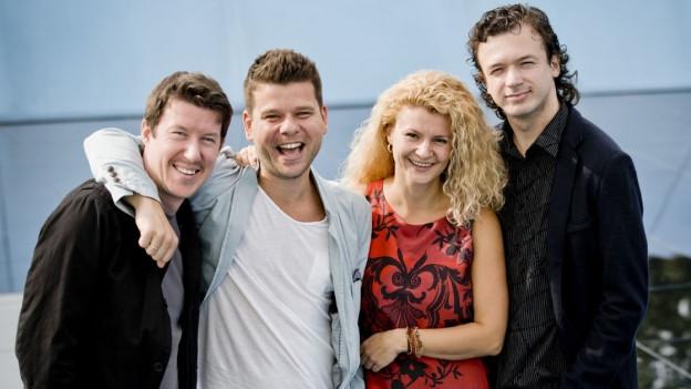 Das Pavel Haas Quartet.