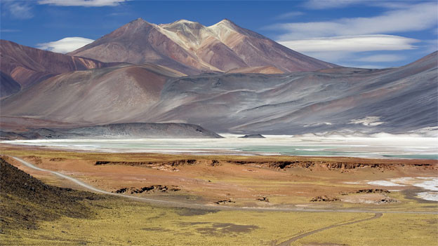 Ganz anders als die Alpen: Die «Cerros de Incahuas» in Chile.